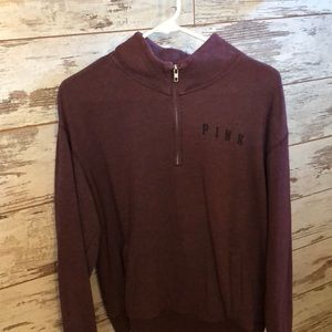 Pick 1:4 zip sweatshirt